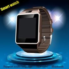 Venta caliente Tarjeta SIM Smartwatch dz09 Reloj Inteligente Con Cámara Bluetooth Reloj de Pulsera Para Teléfonos Android Ios Soporte Multi idiomas