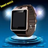 Sıcak satış Akıllı İzle dz09 SIM Kart Kamera Ile Smartwatch Bluetooth Kol Ios Android Telefonlar Için Destek Çoklu diller