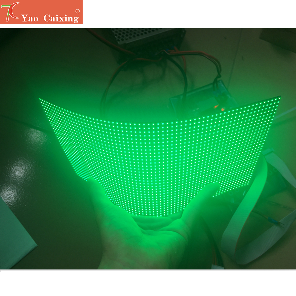 Indoor RGB Hd P4 Indoor Flexible Led Module Video Wall High Quality  Rgb Module Soft Panel Full Color Led Display