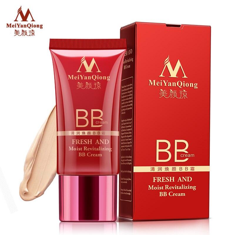 MeiYanQiong Frisch Und Feucht Revitalisierende BB Creme Make-Up Gesichtspflege Whitening Compact Foundation Concealer Verhindern Sich Aalen Hautpflege