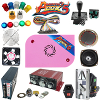 1300 in 1 Pandora Box 6 DIY Arcade game machine Kit With Power Supply Jamma Harness Joystick LED Button coin acceptor