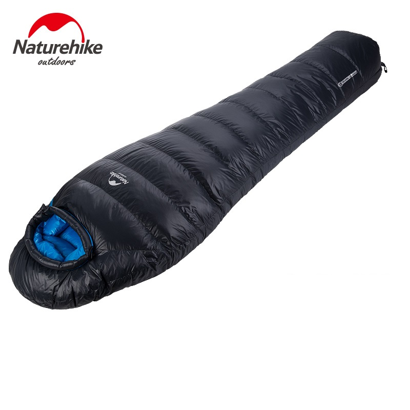 Naturehike duck down sleeping bag outdoor camping winter adult mummy sleeping bags 600FP gazelle outdoors apply spring autumn winter camping outdoor mummy sleeping bags