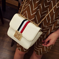 New Fashion Women Bag Ribbon Chain Lock Shoulder Bags Handbag Famous Women Messenger Bags Crossbody Bag Bolsas Femininas Satchel