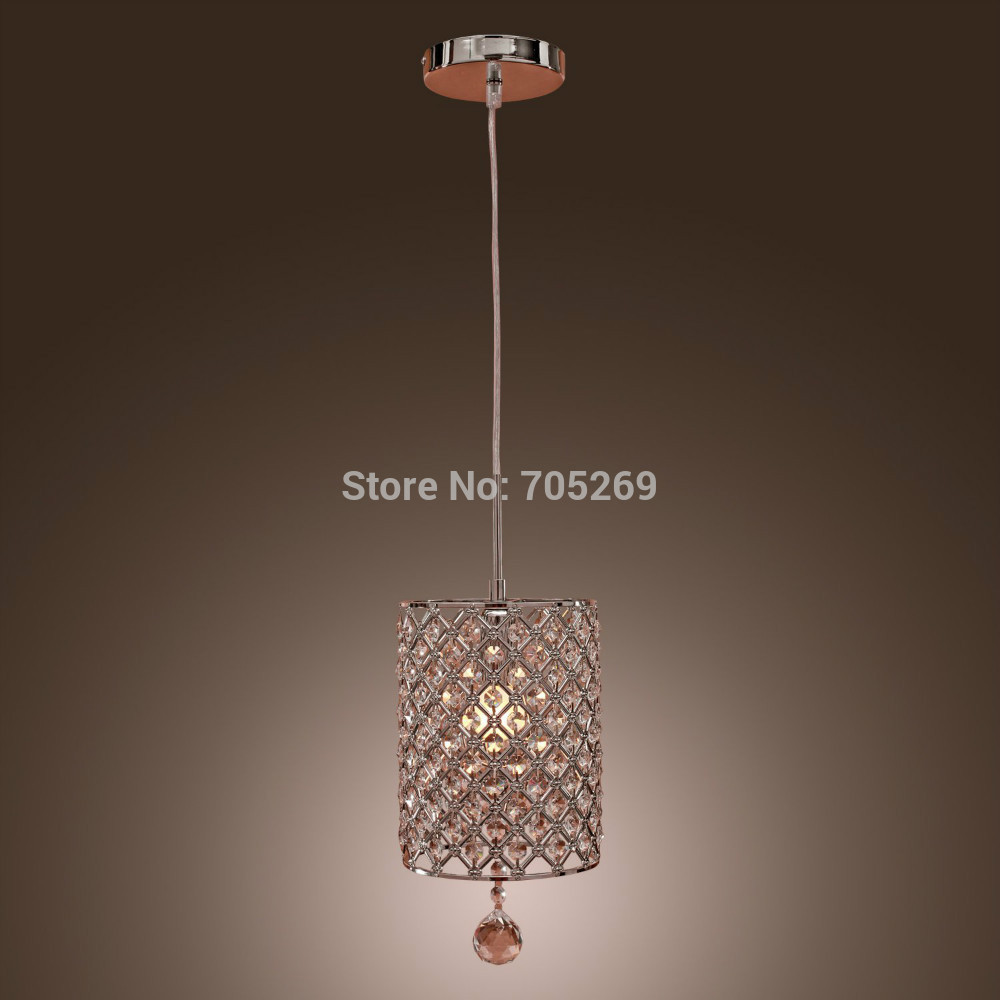 online buy wholesale contemporary crystal pendant lighting from  -  christmas new hot sales morden contemporary crystal drop pendant lightin cylinder style hot sale