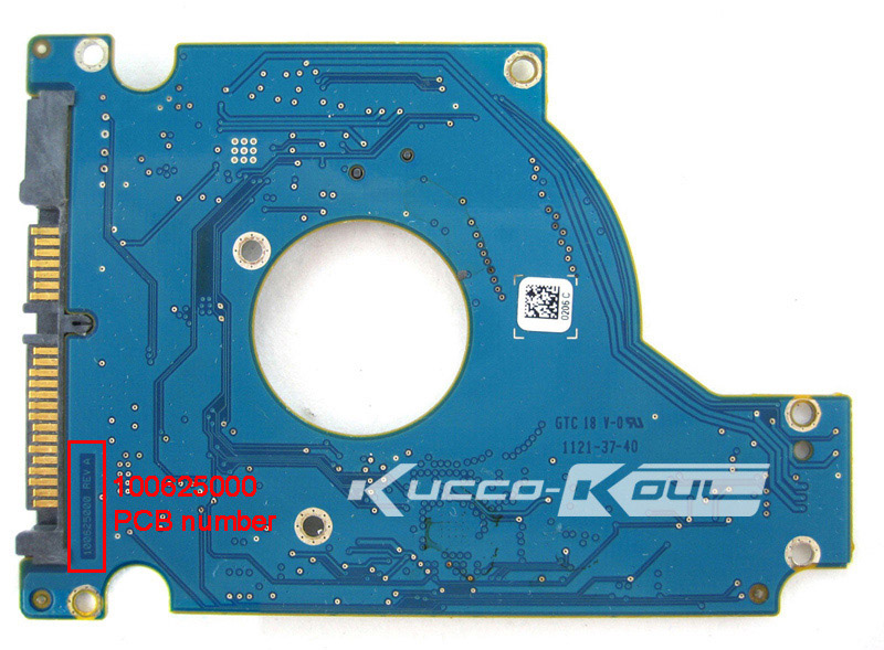 hard drive parts PCB logic board printed circuit board 100625000 for Seagate 2.5 SATA ST160LT015 ST250LT003 ST320LT020