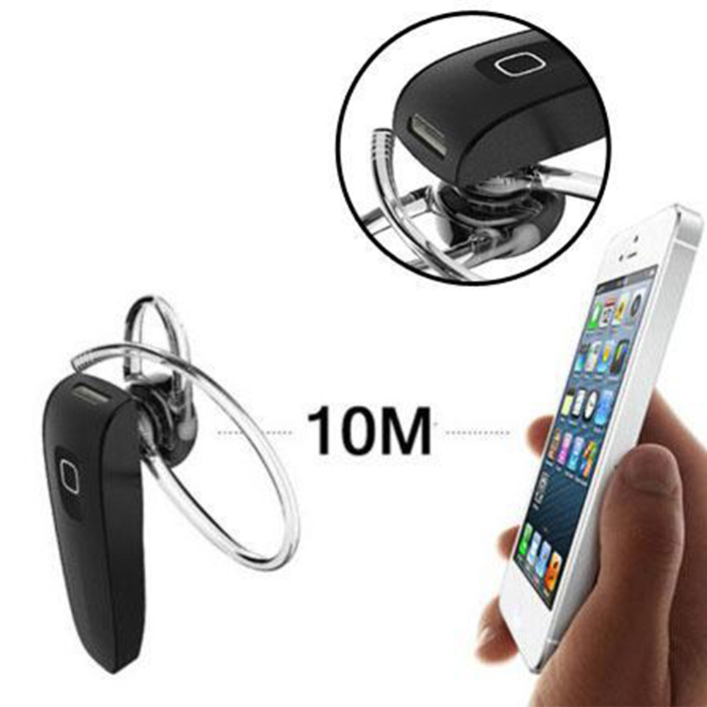 Bluetooth 4.0 Wireless Hands-Free Headset Earphone with Mic for iPhone HTC New stereo headphone universal for all phone in stock free shipping wireless bluetooth stereo headset headphone earphone for samsung for iphone for htc for lg