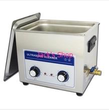10L профессиональный цифровой ультразвуковой очистки + отопление + таймер + корзина 040