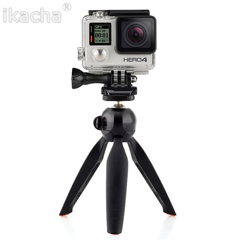 New Yunteng C228 228 Mini Tripod Phone Holder Clip Desktop Tripod For Digital SLR Camera Cellphone