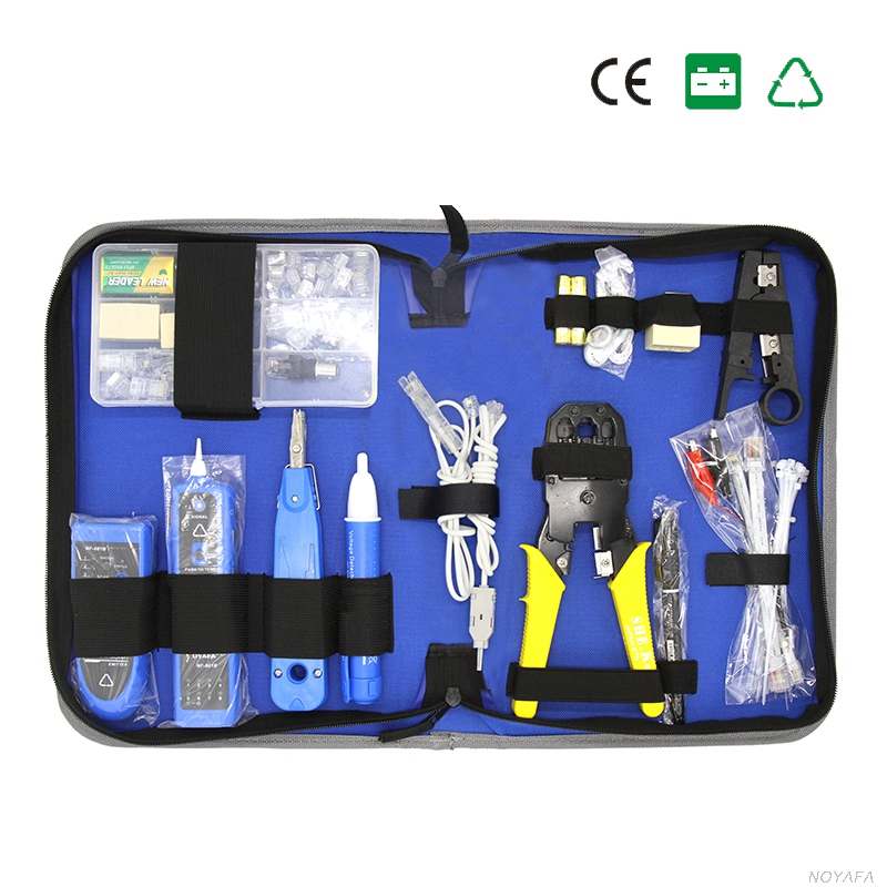 Professional Network Computer Maintenance Repair Tool Kit Network Pliers RJ45 RJ11Tester Set Wire Tracker CAT5E Module Plug kit used original 90% adf maintenance kit 525mfp for hp575 725 775 7500 adf maintenance kit