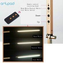 Artpad Energy Saving Modern LED Desk Lamp Dimmer Eye Care Swing Long Arm Business Office Study Desktop Light for Table Luminaire