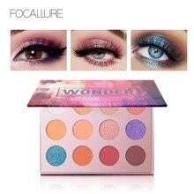 FOCALLURE Glitter eyeshadow palette waterproof nude pigmented matte Eye shadows