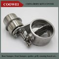 3'' Stainless steel Variable Exhaust Control Valve Set Vacuum Actuator 76 MM pipe Open Style