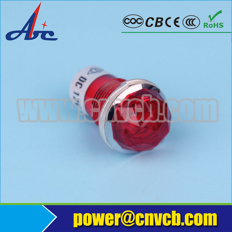 ZS44 Wenzhou Abbeycon yellow round 15mm pilot light in China ...
