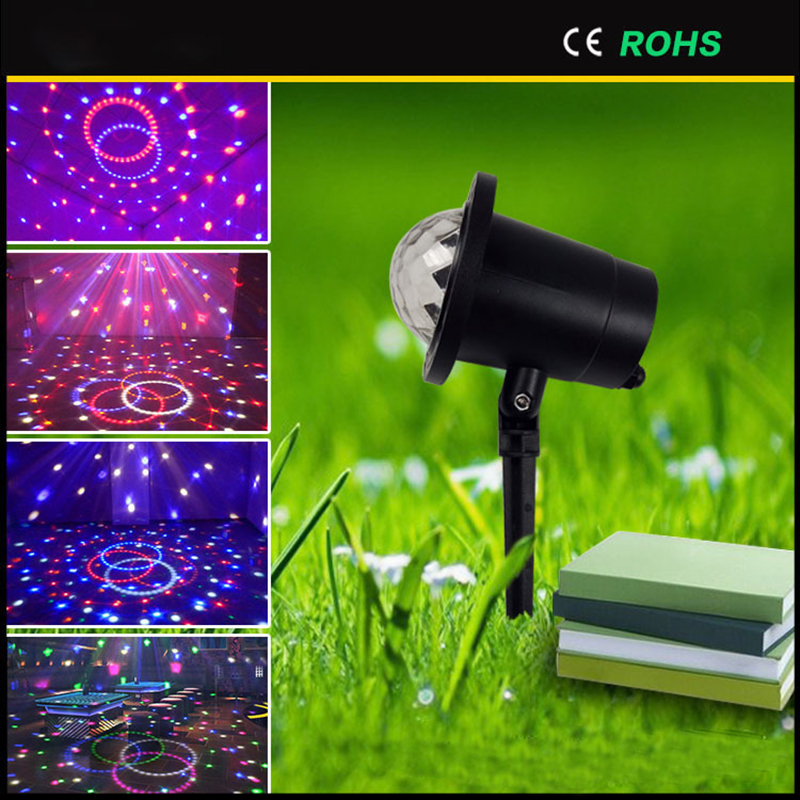 Litwod Z20 Lawn Waterproof Crystal Magic Ball Outdoor Party Effect Lights Festival Lighting Stage Light Magic Ball Christmas