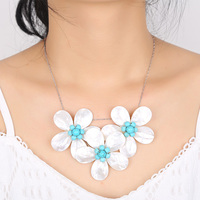 Natural pearl shell sea water glare Send mom fashion luxury gift authentic necklace Super noble elegant necklace European style