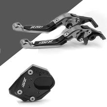 Motorcycle Accessories Clutch Levers and handle grips Side stand enlarge kickstand Extension For Honda XADV750 2017 2018 цены