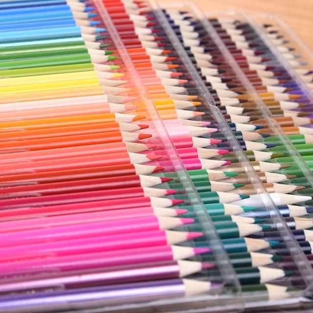 Economy Watercolour Pencil Set 150 Colours Art Supplies Artist