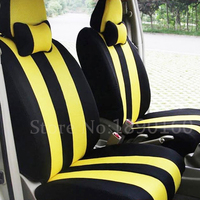 Universal only front car seat cover for Citroen DS DS3 DS4 DS4S DS5 DS6 car accessories auto sticker car styling 3D Black/Red