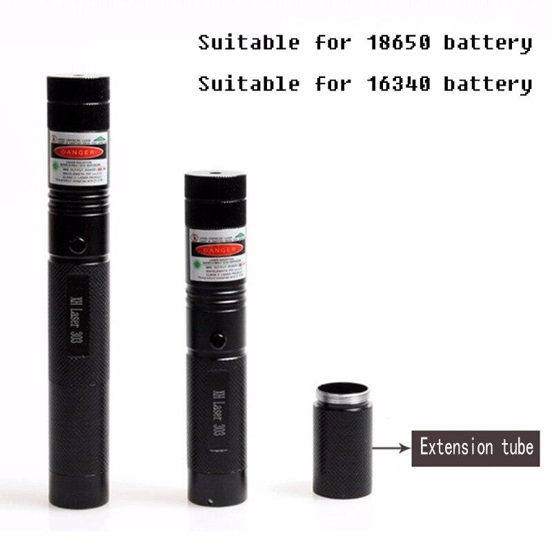 8000-10000M Potente puntero láser verde 5mw Militar 532 nm Red Lazer - Caza - foto 4
