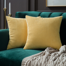 Мягкая Soild декоративная подушка с узором в виде квадратов, Чехлы, прекрасный набор гранул, наволочка, удобная наволочка для дивана, спальни