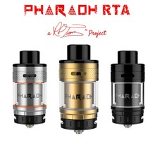 100% d'origine Digiflavor Pharaon RTA ecig atomiseur Innovante D'air d'extension de Contrôle tube