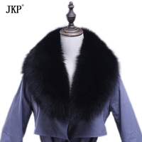 Winter Genuine Fox Fur Collar Scarf For Women Men Fur Scarf 100% Natural Fox Collar Neck Warm Fashion Fur Wrap