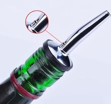 Stainless Steel Wine Bottle Pourer – Oil Cork – Bar Wine Accessories