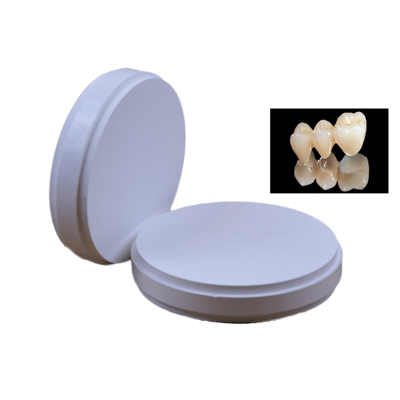 10 Pieces of OD98*18/20mm HT ST Wieland System CAD/CAM Dental Zirconia Ceramic Blocks for Making Procelain Crowns & Prosthesis