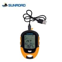 SUNROAD Portátil IPX4 À Prova D' Água Relógio Digital LCD Bússola Altímetro Barômetro Pesca Acampamento Ao Ar Livre Caminhadas Esportes Relógios