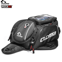 CUCYMA Motorcycle Fuel Tank Bags Motobike Magnetic Bag Waterproof Shoulder Bag Touch Screen Pockets for Cell Phone