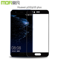 Glass Huawei P10 Glass Huawei P10 Plus Full Cover Tempered Glass Protector Screen Film Black White