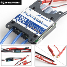 1pcs Original Hobbywing Platinum Pro 120A-HV OPTO 120A Brushless ESC for RC Drone Aircraft Helicopter