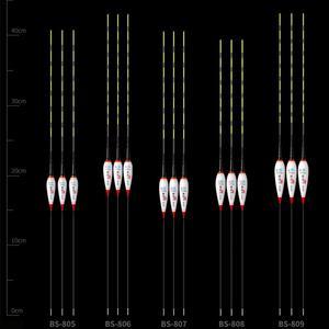 Image 5 - 1/3 sztuk/zestaw inteligentny połowów Float LED elektryczne pływak światło sprzęt wędkarski elektroniczny świetlna Float akcesoria wędkarskie z baterią