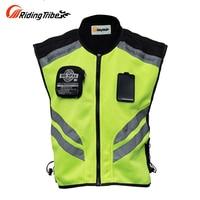 Riding Tribe Motorcycle Jacket Summer Reflective Safety Clothing Racing Vest Moto Motorbike Safety Security Reflective Vests