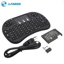 raspberry pi keyboard Mini Wireless Keyboard 2.4G with Touchpad Handheld