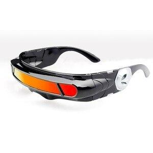 Image 2 - X men Laser Cyclops okulary mężczyźni kobiety projektant specjalne materiały pamięci spolaryzowane podróże UV400 okulary przeciwsłoneczne okulary w stylu Vintage