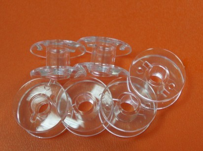 Bobinas de pl/ástico transparente para m/áquina de coser multifunci/ón 25 unidades n/úcleo de bloqueo de carrete
