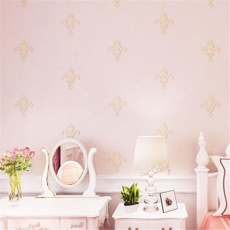 Beibehang Jane Europe Non Woven Fabric Wallpaper Living Room