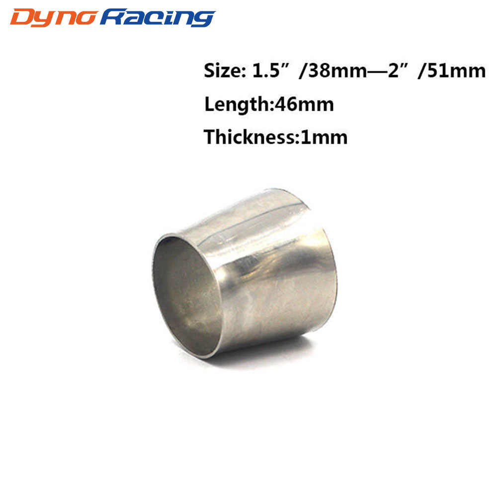 Di alta Qualità Saldabile Riduttore di 201 Adattatore In Acciaio Inox Tubo OD (38 millimetri-51 millimetri, 51 millimetri-63 millimetri, 63 millimetri, 76 millimetri)