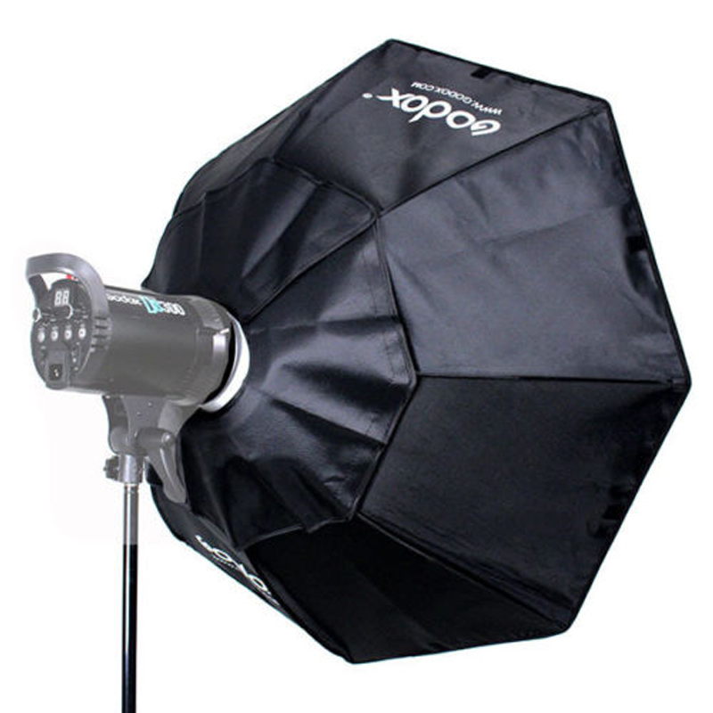Godox Softbox BW140cm Octagon Softbox with Aluminum Alloy Adapter Ring for Bowens Mount