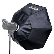 Godox Softbox Octagon Softbox BW140cm con Aleación De Aluminio Anillo Adaptador para el montaje de Bowens
