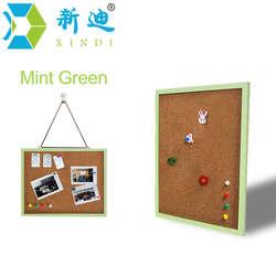 Xindi 35 45cm mdf frame bulletin cork board 5 colors memo photos pin cork boards for.jpg 250x250