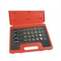 24 Pc Oil Pan Thread Repair Kit Set Sump Drain Plug Repair Kit Set M13 15