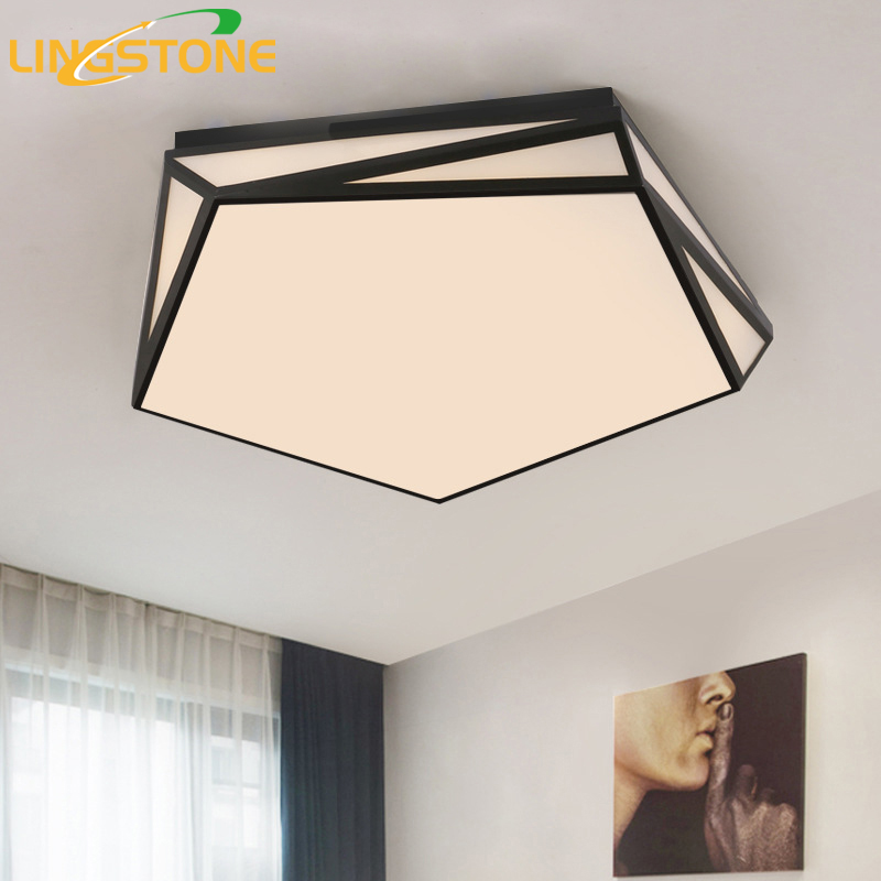 Led Ceiling Lamp Plafonnier Modern Lights Irregular Shape Lighting Fixture Plafondlamp Living Room Bedroom Restaurant Bathroom