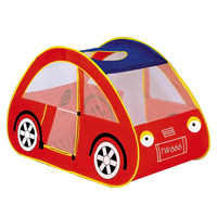 Red Car Shape Baby Playpens Portable Play Tent Kids Toy House Huge Tent For Children Indoor