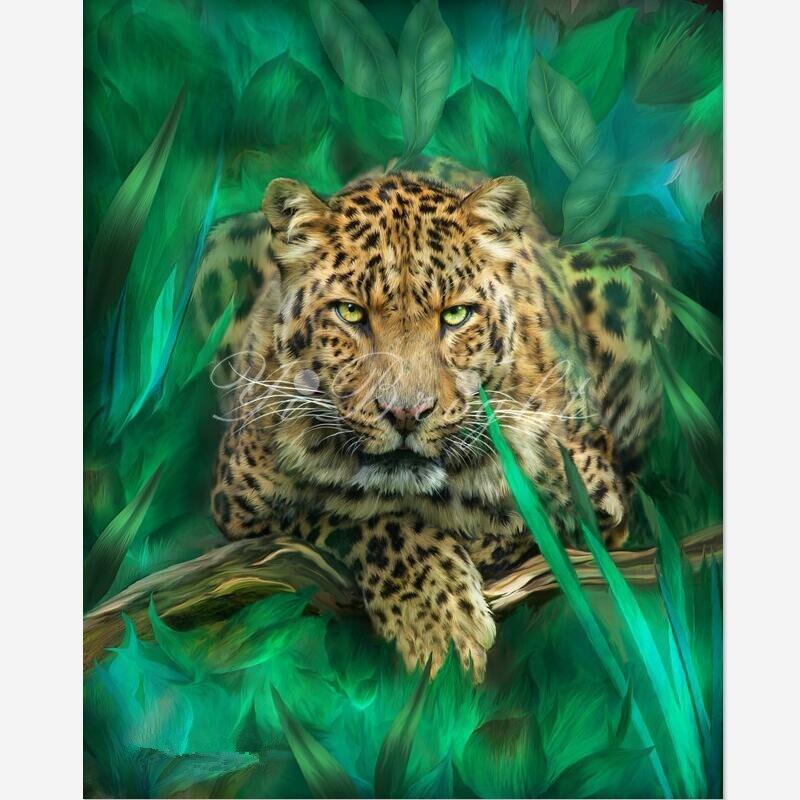 3d Diamante Ricamo Leo_Spirit Empowerm 5D Pittura Diamante Gufo Punto Croce Bella Tigre Animale Ricamo Decorazioni Per La Casa LRR