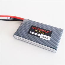 1pcs RC lipo font b battery b font 7 4v 3000mAh 30C 2S for Rc helicopter