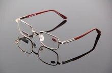 Metal gafas de lectura de los hombres mujeres cristal lentes hipermetropía  + 50 + 75 125 + 175 + 225 + 275 + 325 + 375 + 450 + 5. 738c878ff7