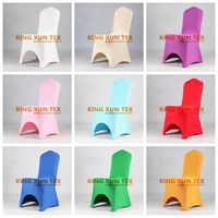Thick Stretch Lycra Spandex Chair Cover Wedding Event Dining Chirstmas Chair Cover Decoration