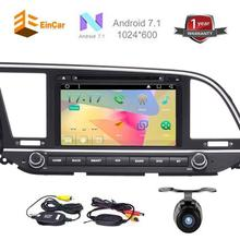 2 Din Stereo for Hyundai Android 7.1 GPS Navigation Car dvd AM FM Radio Audio Receiver Support 1080P/OBD2/WIFi+Wireless Camera
